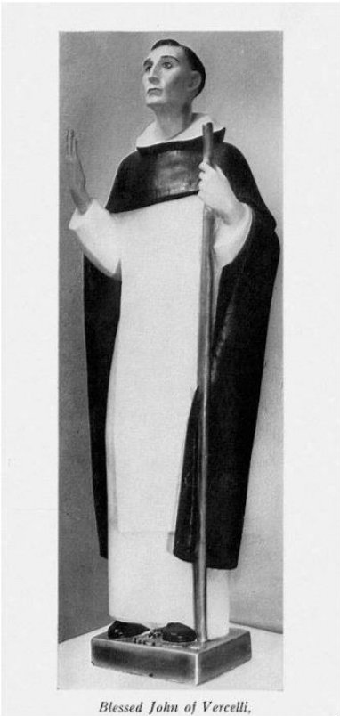bl john of vercelli - statue