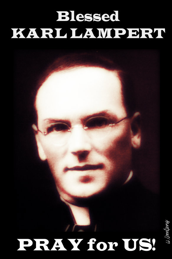 bl karl lampert pray for us 13 nov 2019