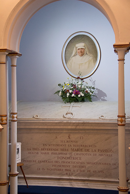 bl mary of the passion shrine
