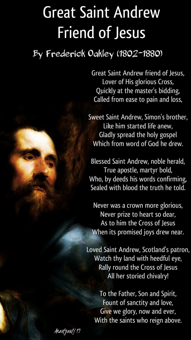 great saint andrew friend of jesus - 30 nov 2019.jpg