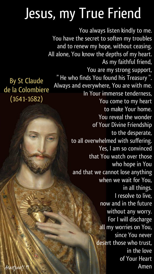 jesus my true friend st claude de la colombiere 18 nov 2019.jpg
