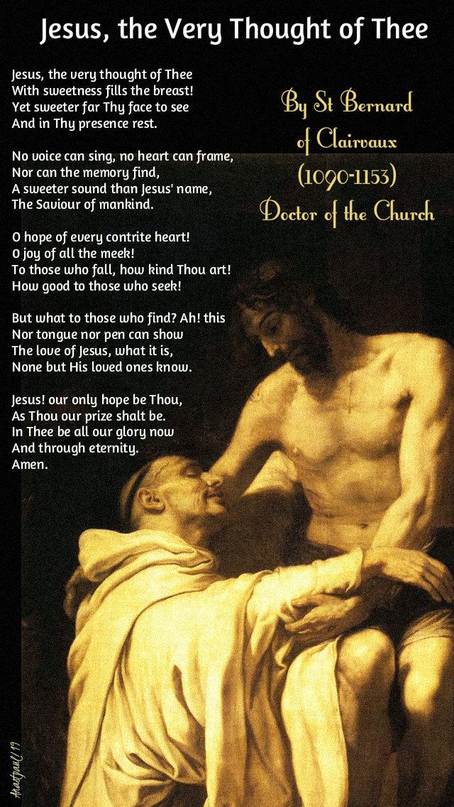jesus the very thought of thee by st bernard - 13 nov 2019 mem of all cistercian saints.jpg