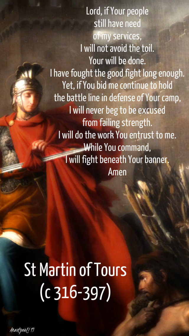 lord if your people - st martin of tours prayer - 11 nov 2019