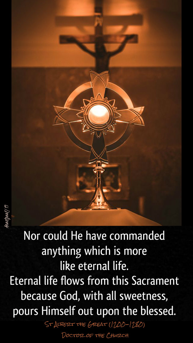 nor could he have commanded anything - st albert the great - eucharist 15 nov 2019.jpg