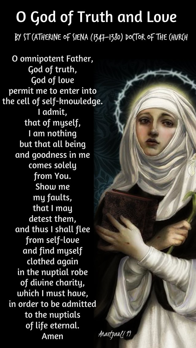 o god of truth and love - st catherine of siena - 7 nov 2019.jpg