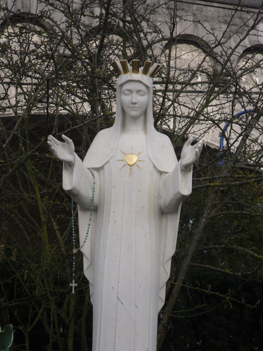 our lady of beauraing belgium - of the golden heart - 29 nov.jpg