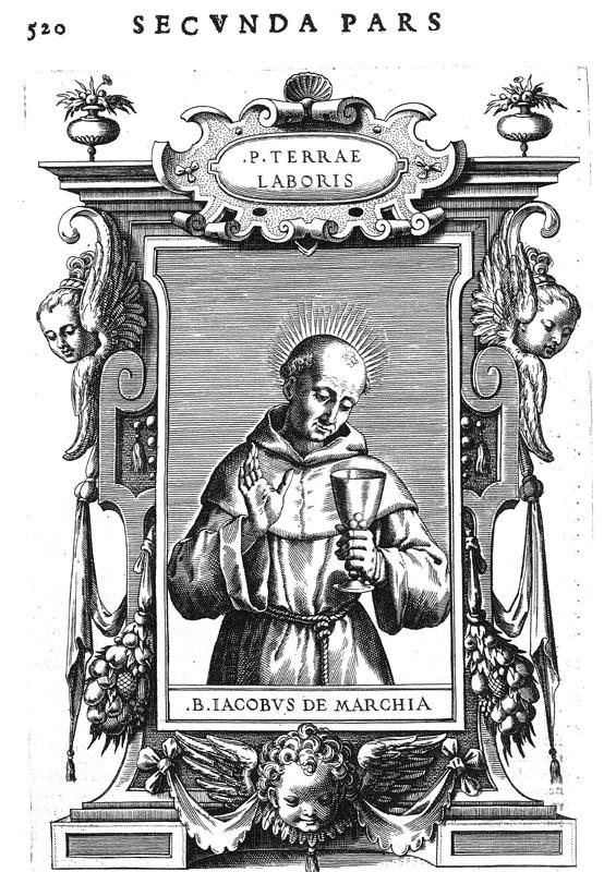 P. 0520 - James, of the Marches, Saint