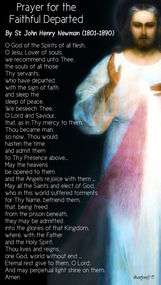 prayer for the faithful departed no 2 st john henry newman 16 nov 2019.jpg