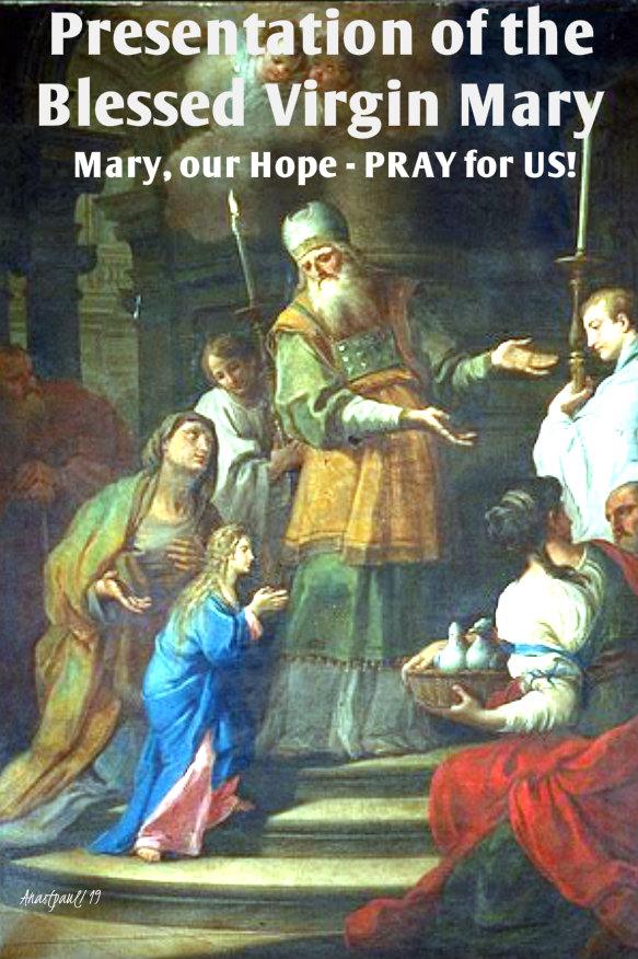 presentation of mary - our hope pray for us 21 nov 2019.jpg