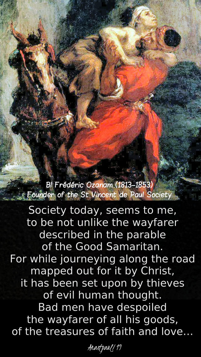 society today seems to me - bl frederic ozanam - 25 nov 2019 speaking of mercy luke 21 1-4 the widow's mite.jpg