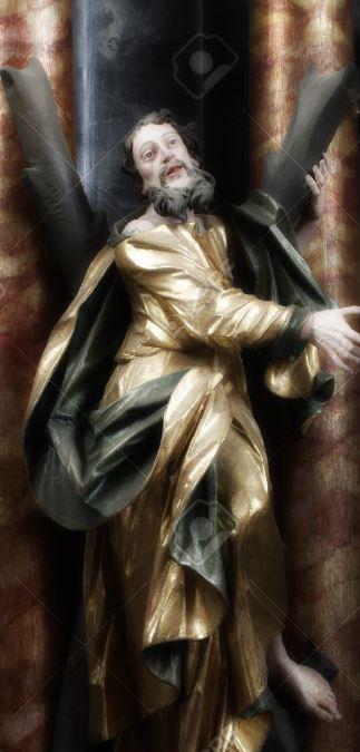 st andrew apostle statue snip
