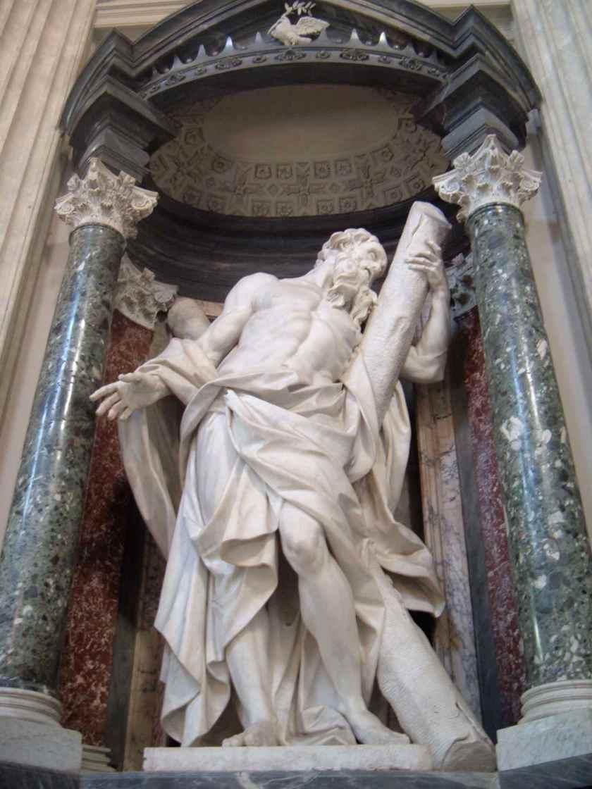 St-Andrew vatican statue