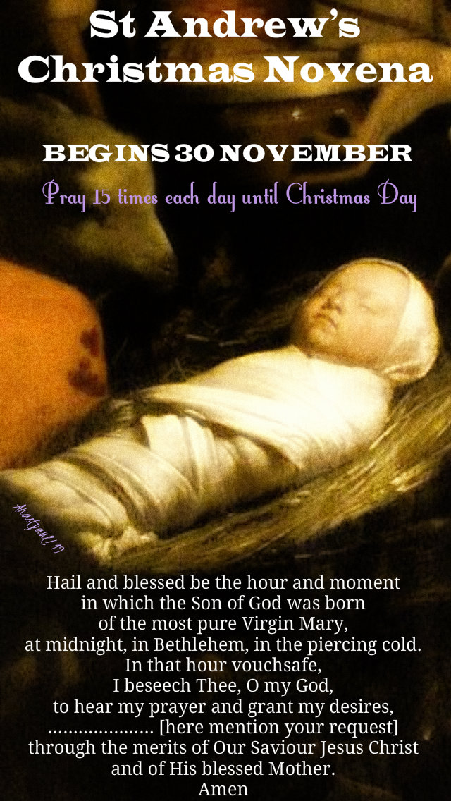st andrews christmas novena - begins 30 nov - say 15 times each day-posted 28 nov 2019.jpg