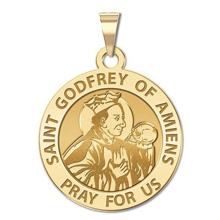 st godfrey of amiens medal