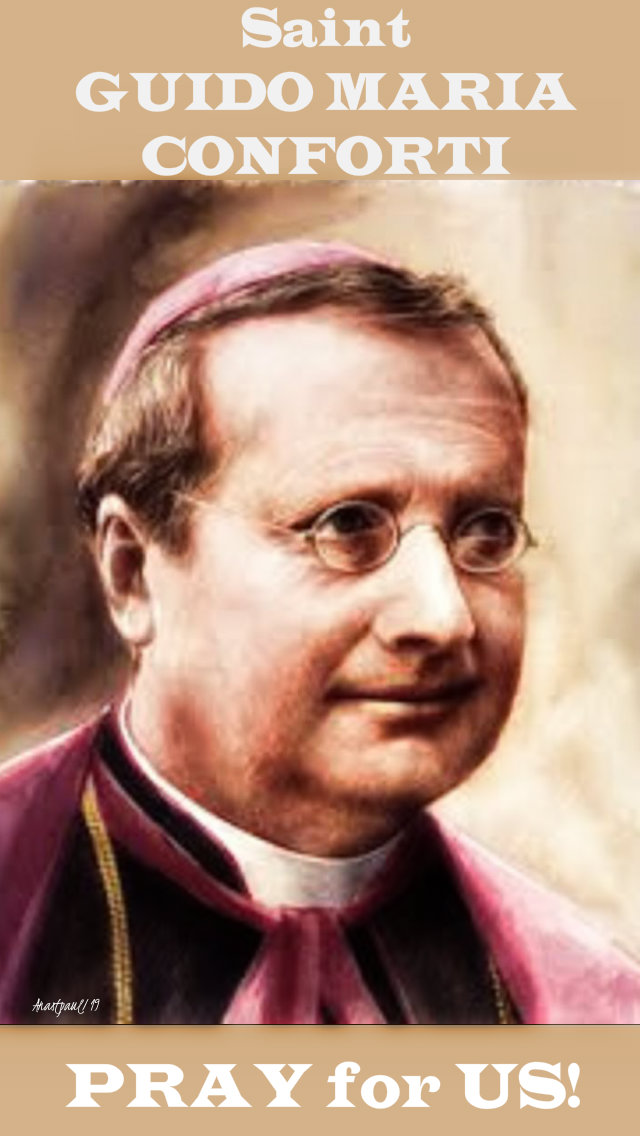 st guido maria conforti pray for us 5 nov 2019