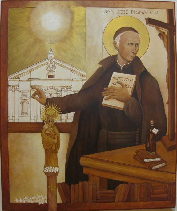 ST JOSEPH Pignatelli - ICON