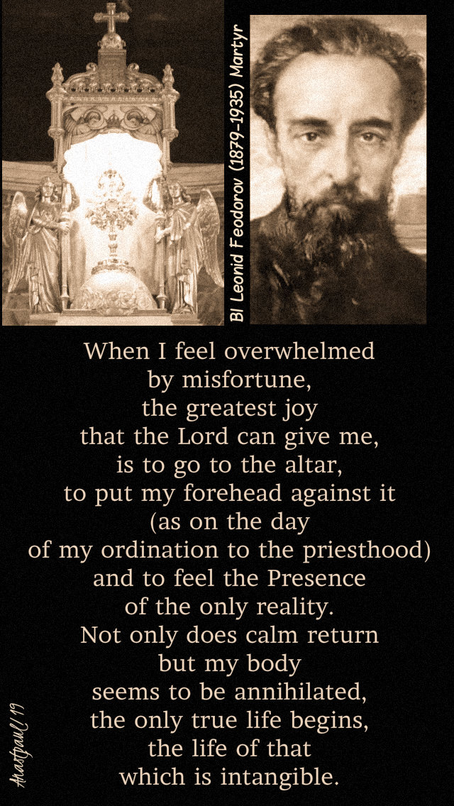 when-i-feel-overwhelmed-by-misfortune-bl-leonid-feodorov-7-march-2019 and 27 nov 2019