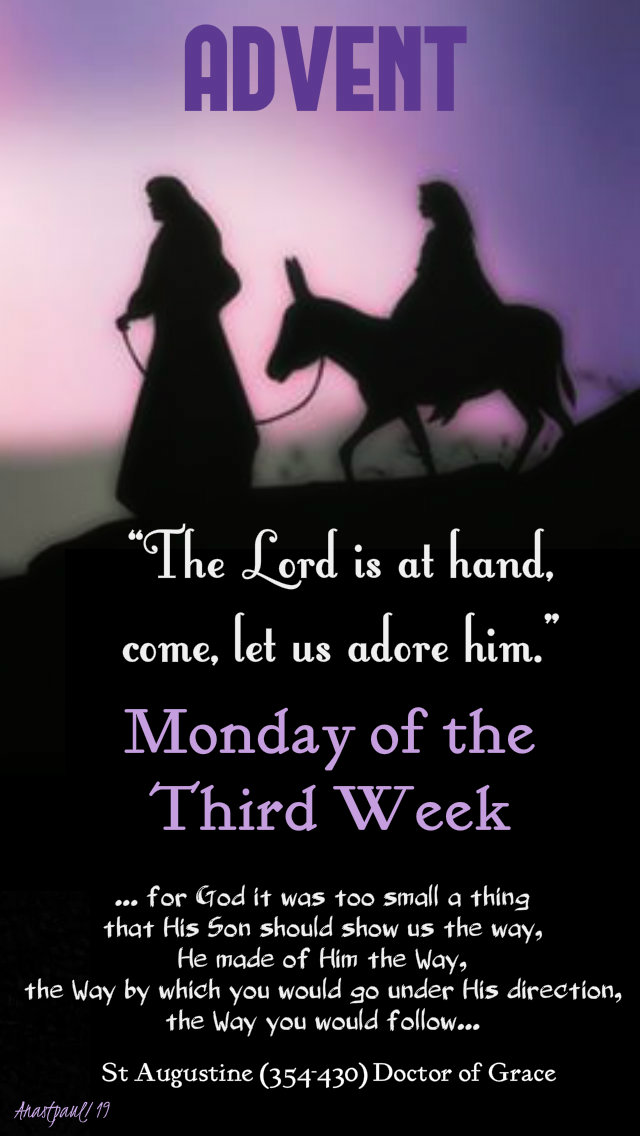 advent monday of the third week 16 dec 2019 for god it was too small a thing - st augustine .jpg