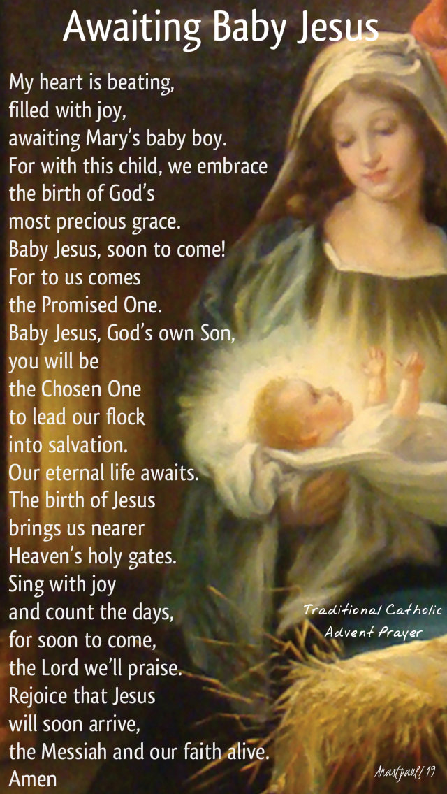 awaiting baby jesus - trad advent prayer - 19 dec 2019.jpg