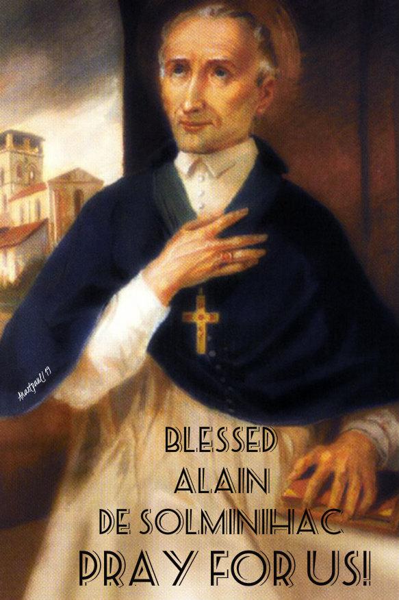 bl alain de solminihac pray for us 31 dec 2019