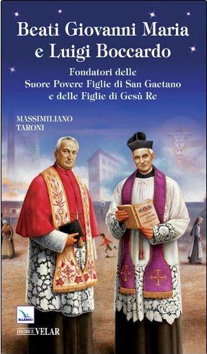 bl giovanni and bl luigi boccardo - brothers book