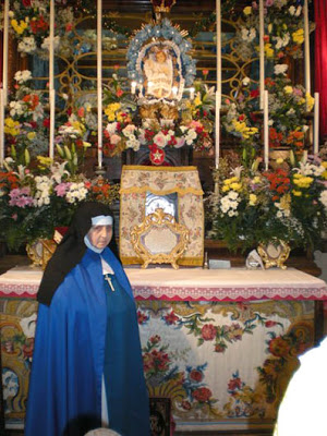 Blessed Maria Vittoria Relics Mother M Angela