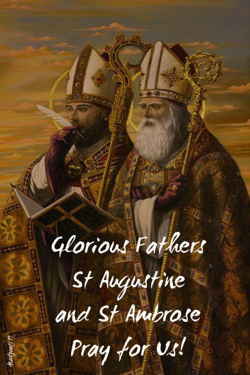 glorious fathers st augustine and ambrose pray for us 7 dec 2019.jpg