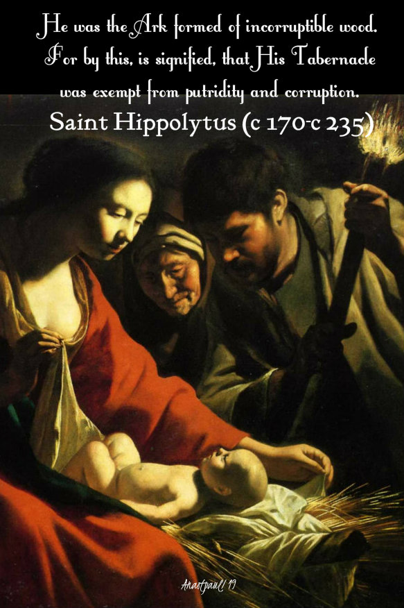 he was th ark formed of incorruptible wood - st hippolytus - imm conception 9 dec 2019.jpg