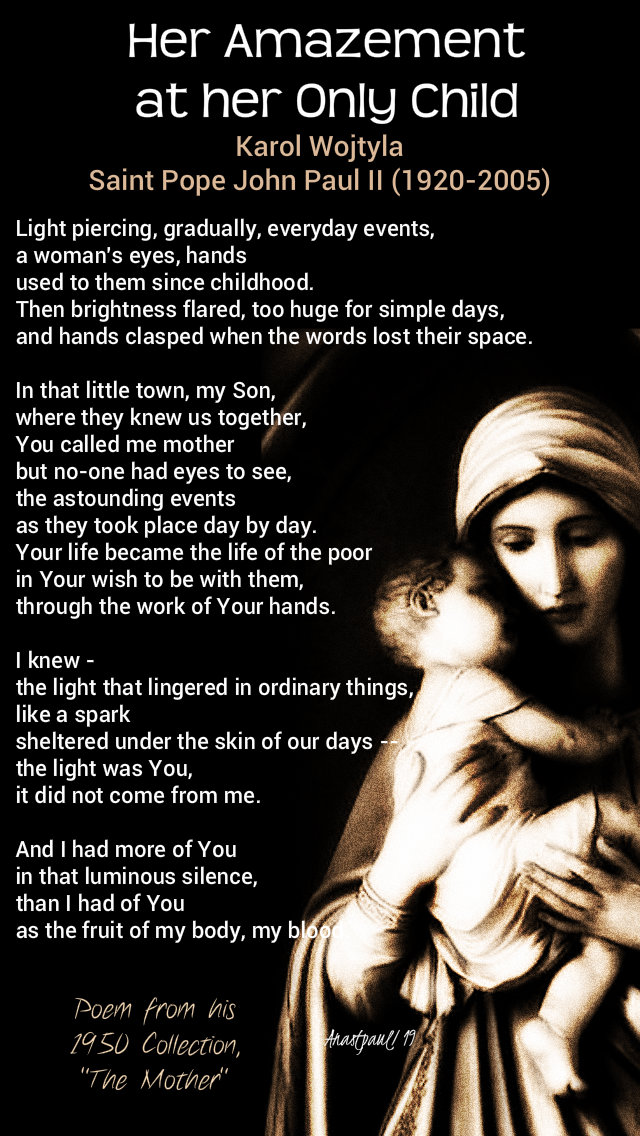her amazement at her only child - st john paul karol wojtyla 30 dec 2019.jpg