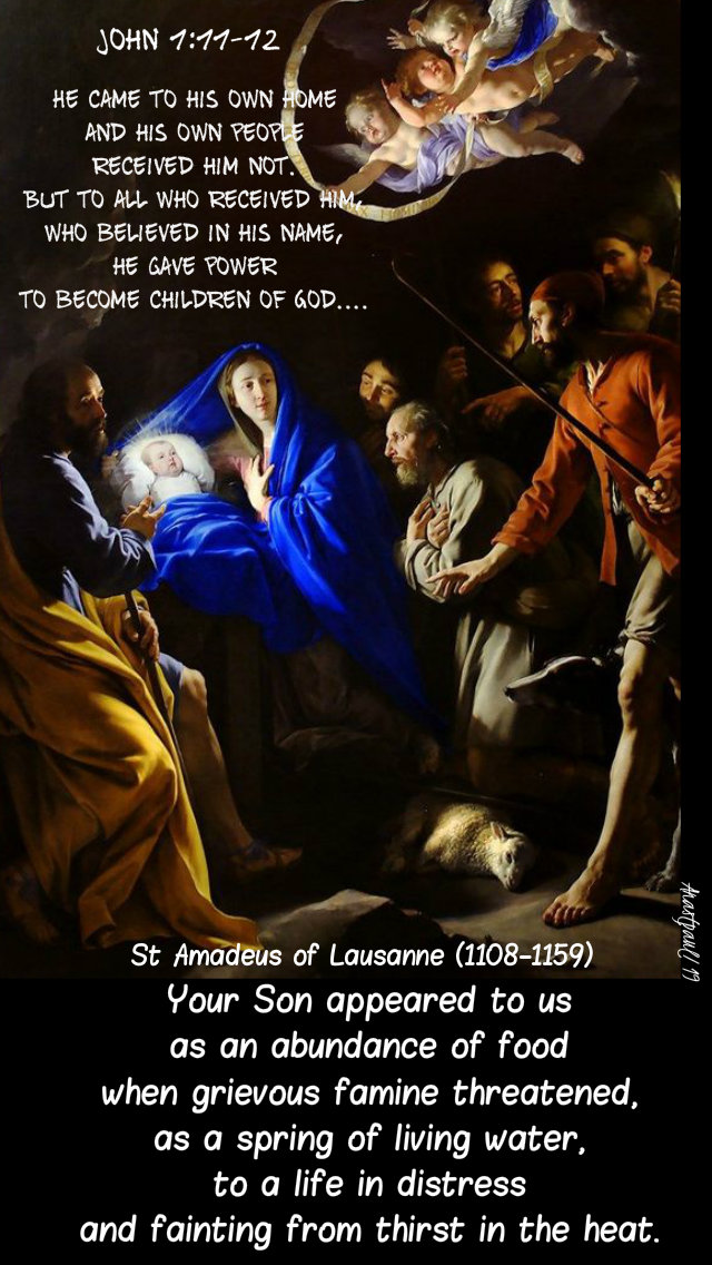 john 1 11-12 he came to his own and his own received him not - your son appeared to us - st amadeus of lausanne 31 dec 2019.jpg