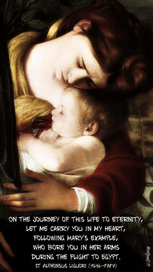 on the journey of this life to eternity - st alphonsus liguori 29 dec 2019 holy family feast no 2