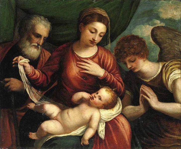 Polidoro_da_Lanciano_Holy_Family_with_Angel just amazing