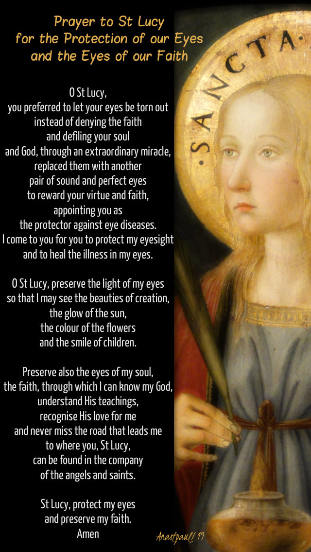 prayer to st lucy for our eyes and the eyes of our faith - 13 dec 2019.jpg