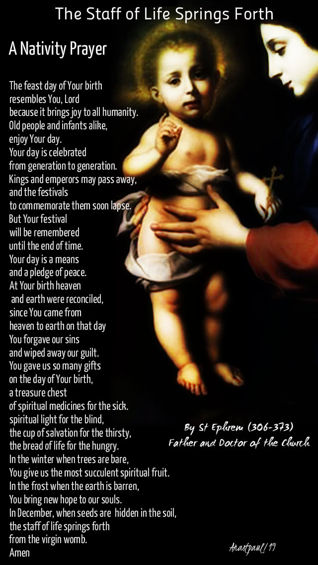the feast day of your birth resembles you o lord - nativity prayer by st ephrem 30 dec 2019.jpg