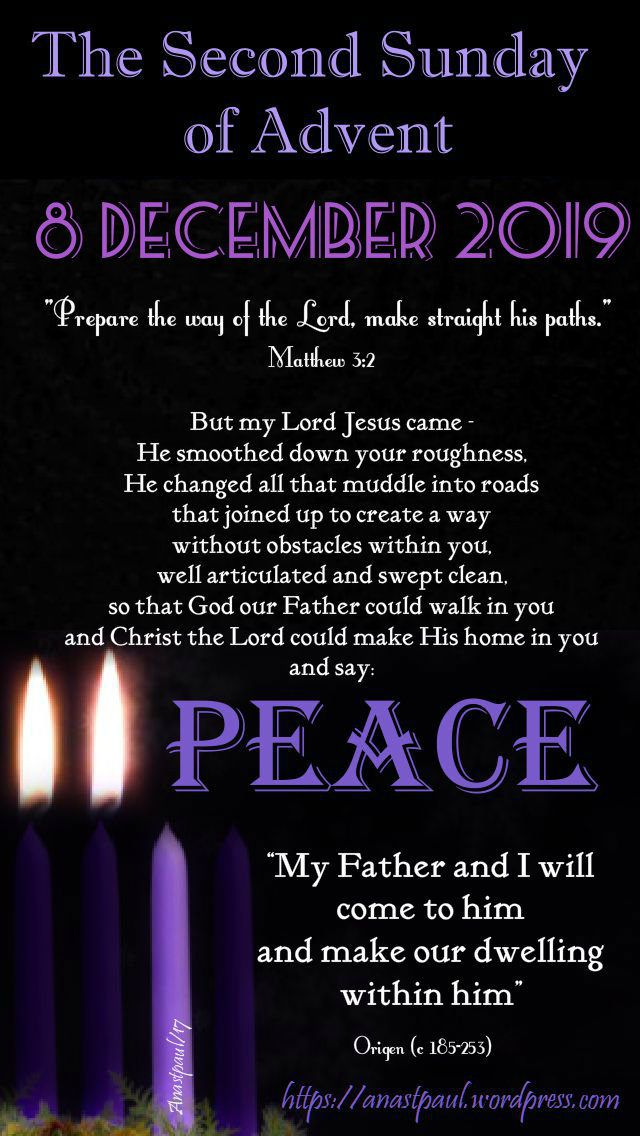 the second sunday of advent - 8 dec 2019 .jpg