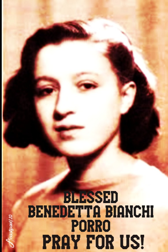 bl benedetta bianchi porro pray for us no 2 23 jan 2020