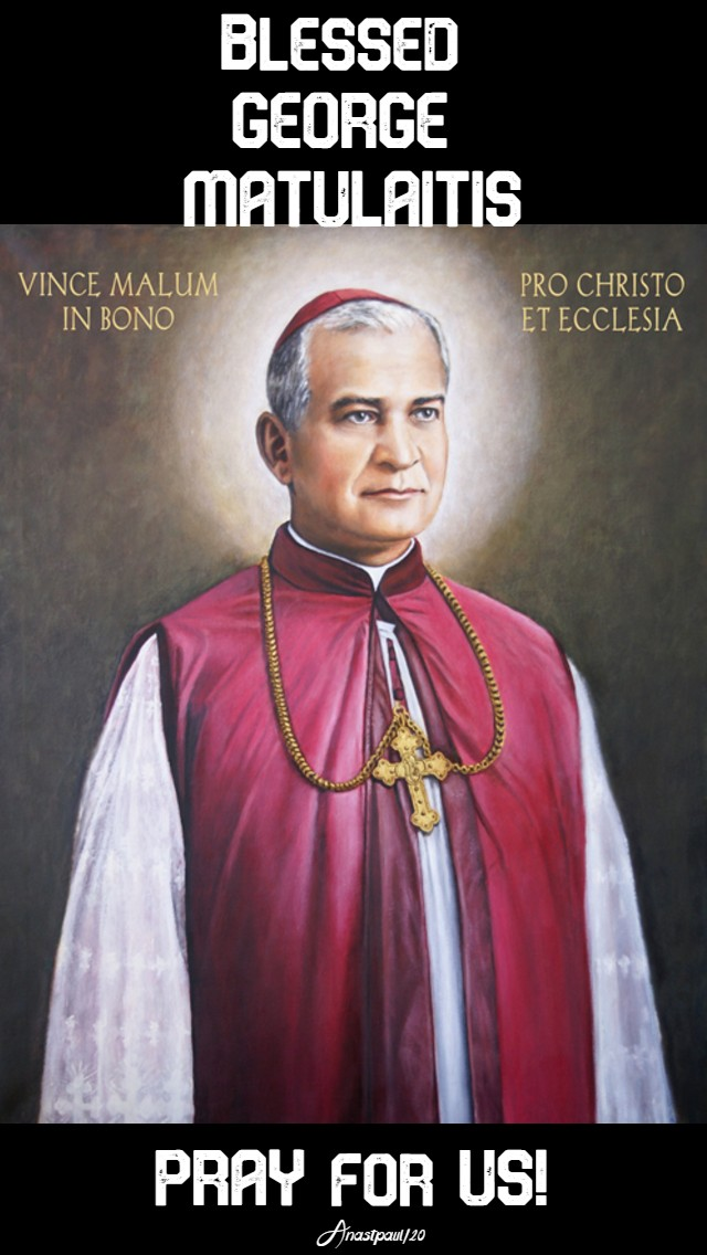 bl george matulaitis pray for us 27 jan 2020