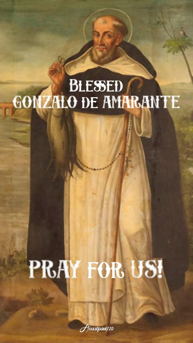 bl gonzalo de amarante pray for us 16 jan 2020