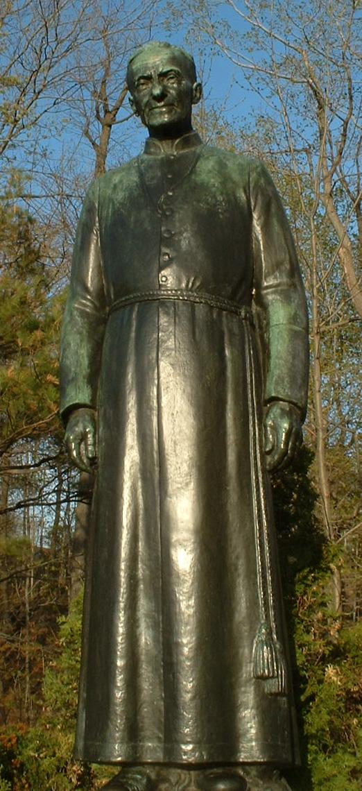 Brother-st andre. statue jpg
