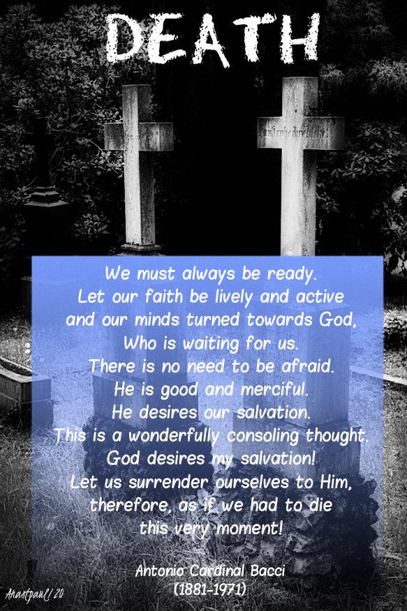 death - we must always be ready - bacci - 8 jan 2020.jpg