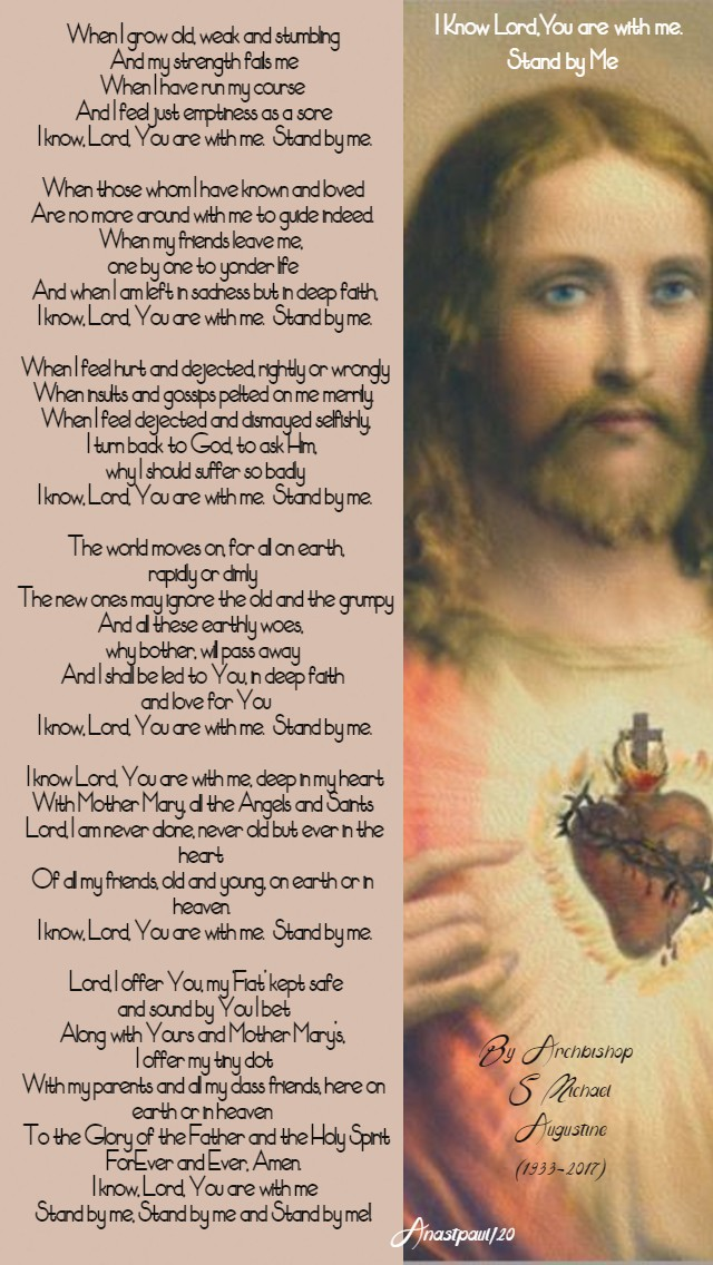 I know Lord you are with me stand by me archb michael augustine NO 2 13 jan 2020.jpg