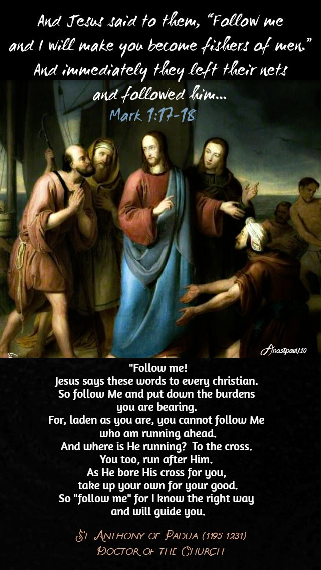 mark-1-17-18-and-jesus-says these words to every christian st anthony of padua 13 jan 2020.jpg