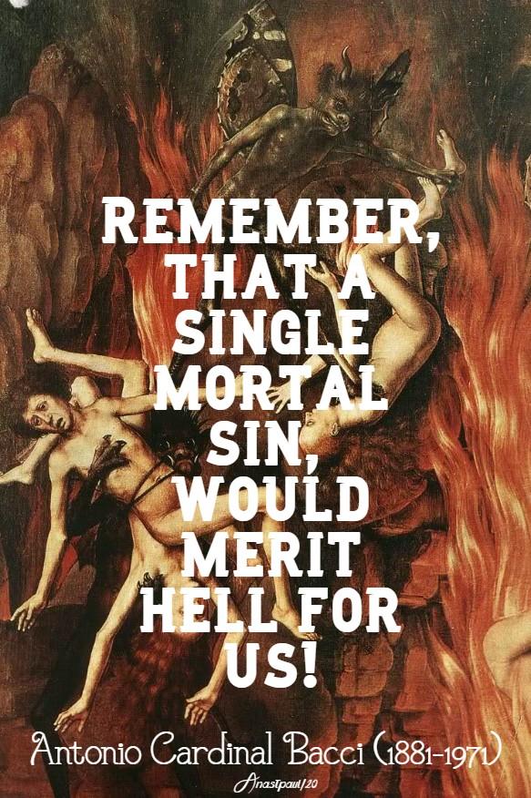 remember that a singel mortal sin - bacci - hell 1 13 jan 2020