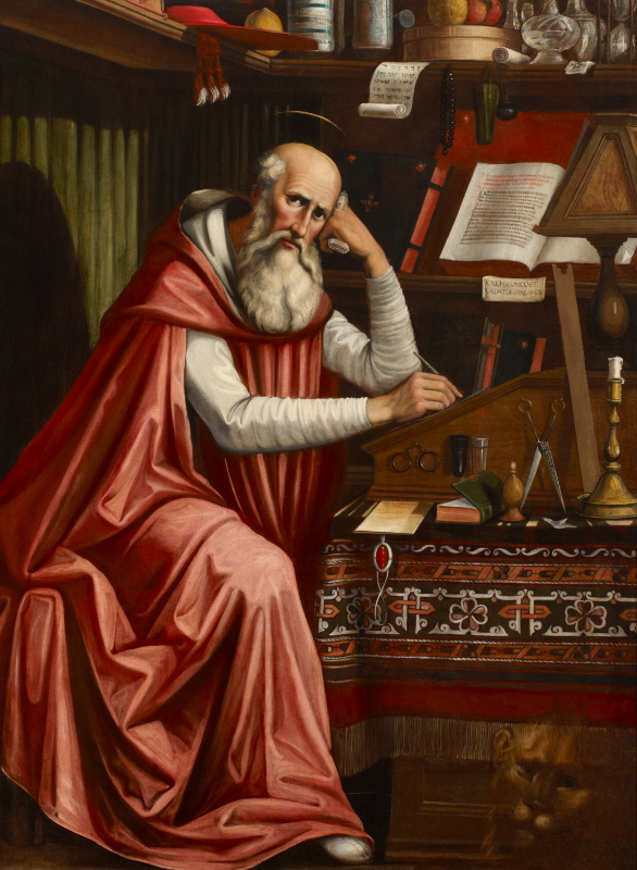 Saint-Jerome-bible