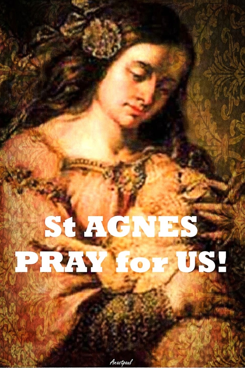 ST AGNES PRAY 20 jan 2020