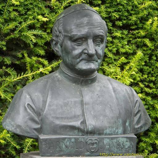 st arnold janssen statue bust