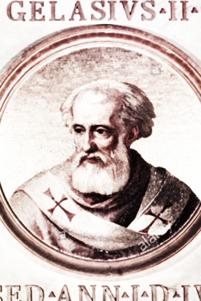 ST pope galatius II alamy