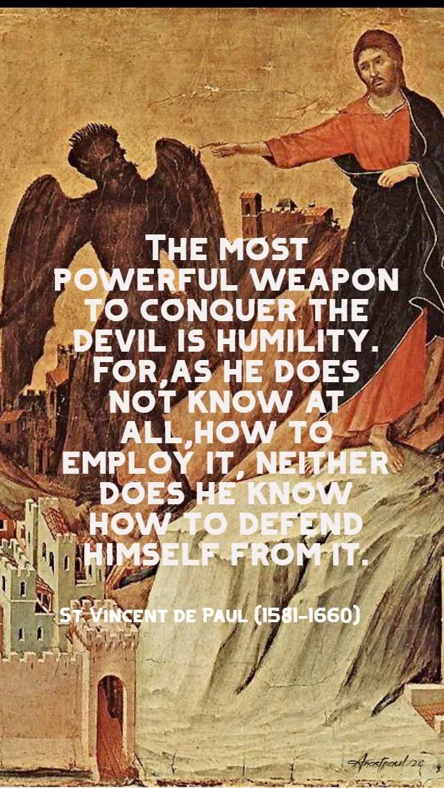 the most powerful weapon - st vincent de paul 14 jan 2020.jpg