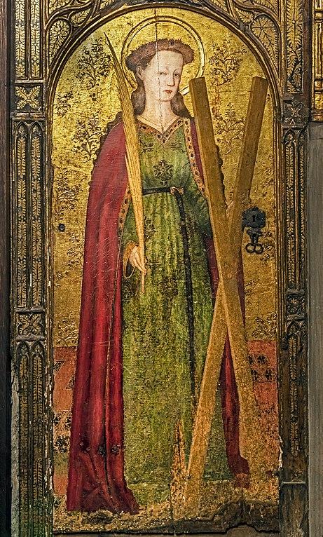 461px-Barcelona_Cathedral_Interior_-_Saint_Eulalia_of_Barcelona_by_Pedro_García_de_Benavarre