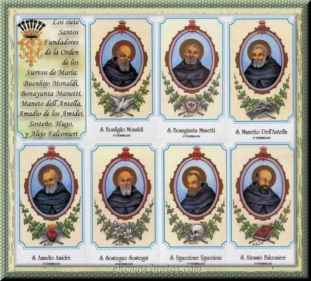 7 holy founders servites